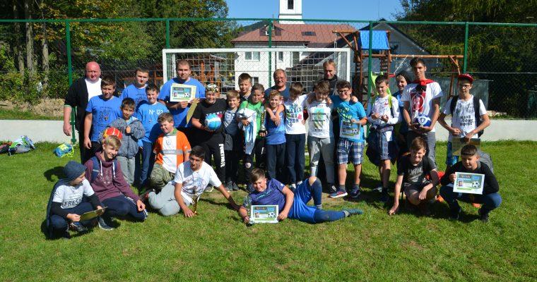 Futbalový turnaj miništrantov