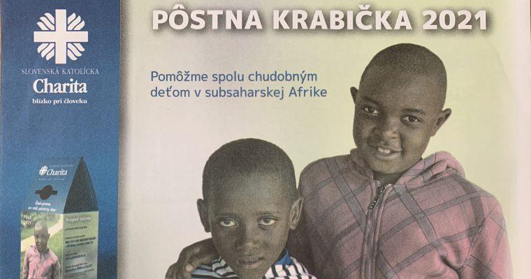 Pôstna krabička pre Afriku